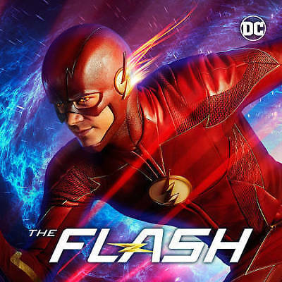The Flash: The Complete Fourth Season 4  (DVD, 2018, 5-Disc)