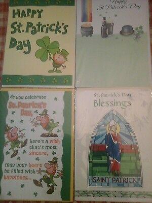 25 st Patrick cards, wholesale joblot greeting cards