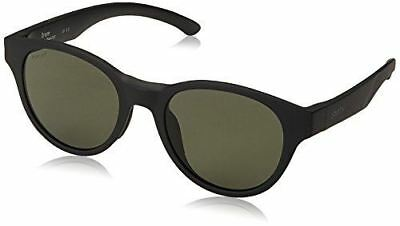 b29cb955ac Smith The Snare Sunglasses Matte Black with ChromaPop Polarized Gray Green  Lens
