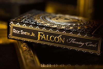 Falcon Throwing Cards (Collector's Edition), Gold foil playing cards, De'vo