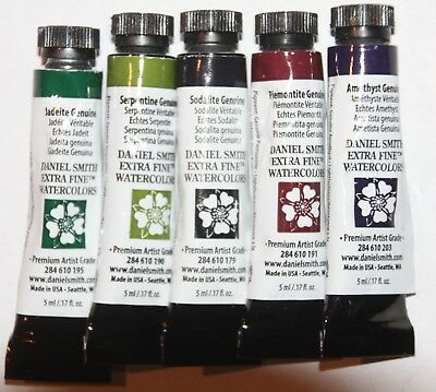 5 DANIEL SMITH Extra Fine Watercolor Paints-all Series 4 -5ml