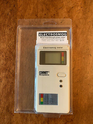 Cornet ED78S EMF RF Meter ElectroMagnetic Detector - Used only once