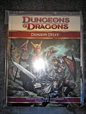 D&D 4 Dungeon Delve Pathfinder Dungeon & Dragons RPG Fantasy Rollenspiel