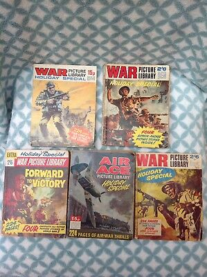 War Picture Library Holiday Specials Plus One Air Ace