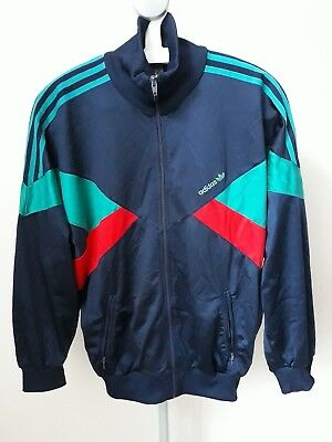 Adidas track tracksuit jacket RARE retro vintage M Medium Germany football