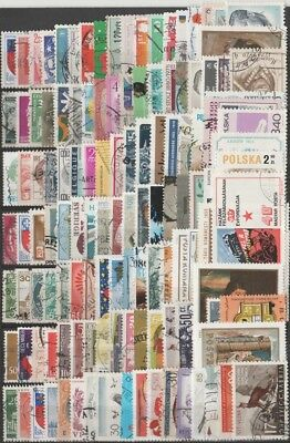 150 x Undamaged Postage Stamps - European Mix  -  Free Int. Shipping