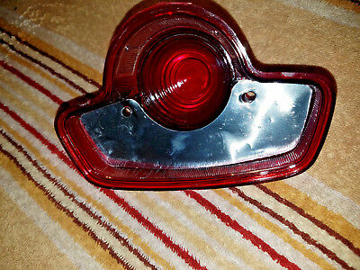 NOS TRIUMPH LUCAS TAIL  LIGHT TYPE LENS LICENSE PLATE BRAKE LAMP new