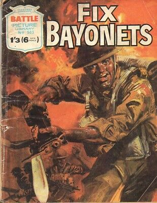 Battle Picture Library No. 503 'Fix Bayonets'