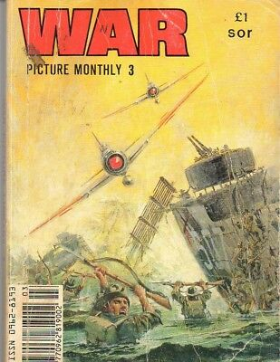War Picture Monthly No.,3 comic