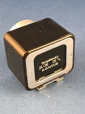 Voigtlander Kontur 35mm Viewfinder 24x36 For 35mm