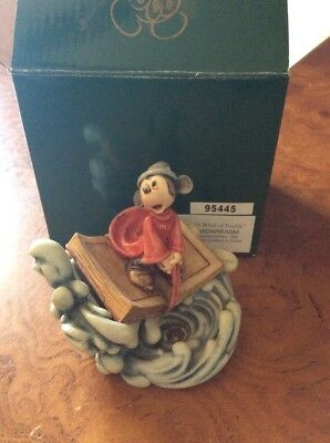 Harmony Kingdom Disney box collectible sorcerer Mickey a whirl of trouble