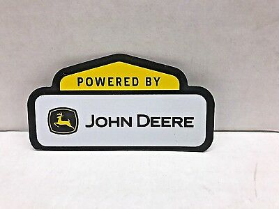 "John Deere Power Sign Magnet  3"" Long"