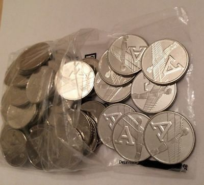Alphabet 10p A-Z COIN THE  LETTER A For  ANGEL OF THE NORTH  From Sealed Bag