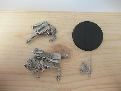 Games Workshop Citadel Lord of the Rings Lotr Ringwraith Mounted Pose 1 Metal