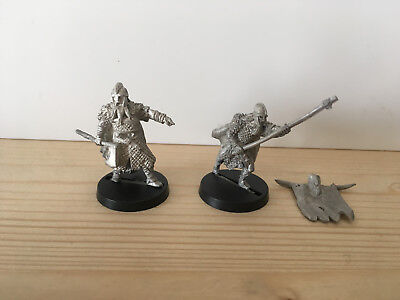 Games Workshop Citadel Lord of the Rings Lotr Dunlending Commanders Metal