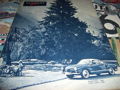 VW Karmann Ghia AD! Okrasa Tuning Ovali Käfer pin up GF4/1961 Petri split beetle