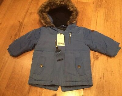 Boys Next Parka Coat 6-9 Months Bnwt
