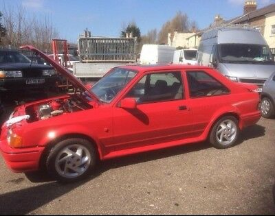 escort rs turbo project