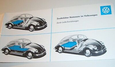 VW Käfer Ovali Zubehör RIMI Accessory folder Split Oval beetle bus T1 KDF Wagen