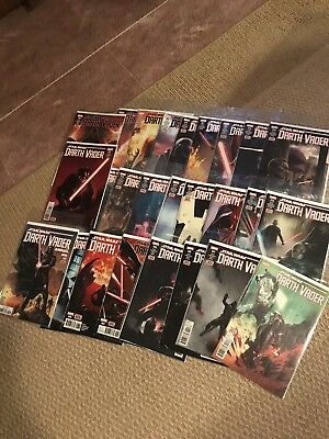 Marvel Star Wars Darth Vader Comic Lot 2nd Series 1-25 Plus Vader's Castle 1-5