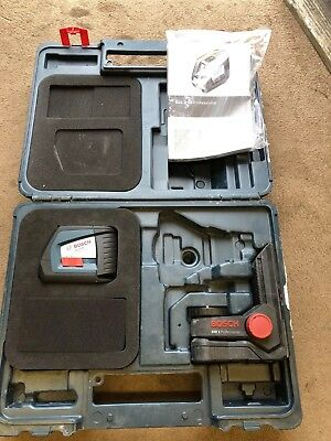 Bosch professional GLL 2-50+ laser lever. Excellent condition.