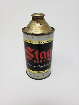 Stag Cone Top Beer Can MO