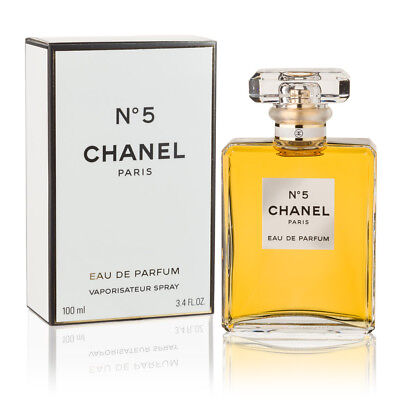 Chanel Chanel No 5. 100ML Eau De Parfum Spray - Brand New Sealed RRP $259