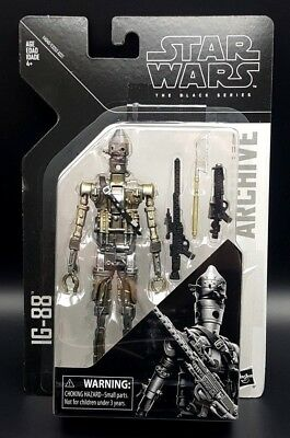 """Star Wars Black Series IG-88 Archive Collection 6"""" Figure!!!!"""