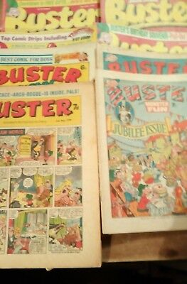 Buster comic  x20 + 2 holiday specials