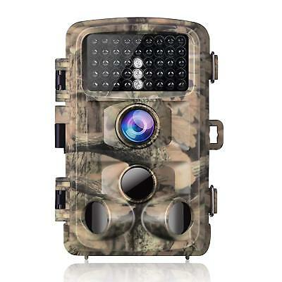 Campark Trail Game Camera 14Mp 1080P Waterproof Hunting Scouting Cam For Wildlif