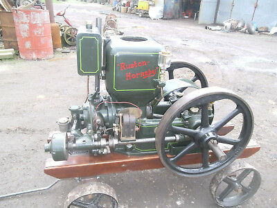 Stationary engine Ruston Hornsby 3hp AP