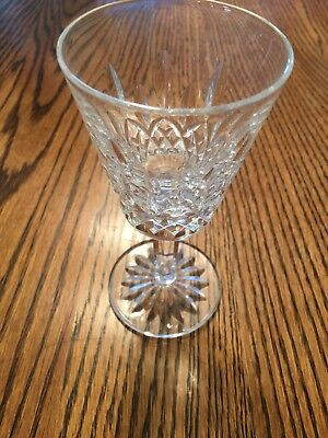 Waterford Crystal Claret Wine Glass Lismore