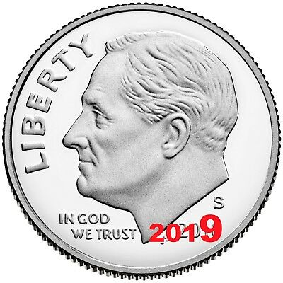 2019 S Clad PROOF ROOSEVELT DIME GEM DEEP CAMEO coin