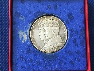 1935 Great Britain 1935 George V Silver Jubilee Medallion .925 Silver