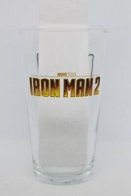Vaso IRON MAN 2 marvel burguer king glass superheroes coleccionables