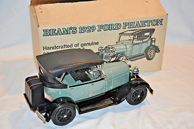 Jim Beam 1929 Ford Phaeton Decanter Empty With Box