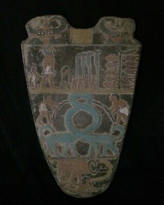 RARE EGYPTIAN ANTIQUES EGYPT Stela Relief Panel Narmer KING MINA Stone 2925 BCE