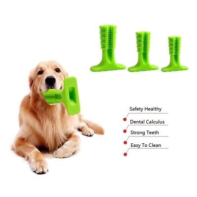 Small Dog Chew Toys Rubber Most Effective Toothbrush Stick Tooth Clean Oralcare
