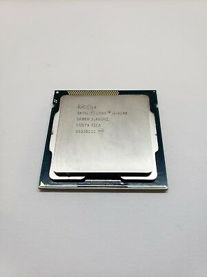 Intel Core i3-3240 3.4GHz Dual-Core  Processor PULLED FROM WORKING MACHINE