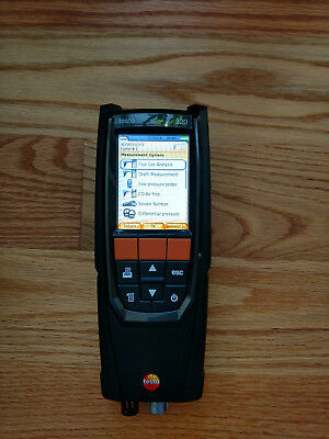 Testo 320 (0632.3220.56) Combustion Analyzer Kit with HD Color Display