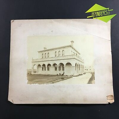 c.1880 MELBOURNE HISTORIC HOME ALBUMEN PHOTOGRAPH BY J.P.LIND WINDSOR