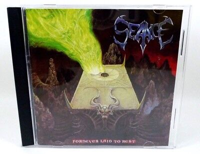 Fornever Laid to Rest by Seance (CD, 1992, Black Mark) Rough Trade BMCD 17