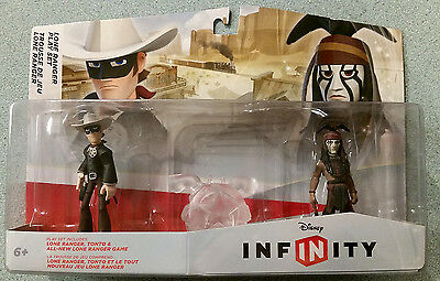 Disney Infinity Lone Ranger and Tonto sealed Wii/PS3/PS4/Xbox/3DS Johnny Depp