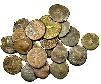Group of 20 Ancient Roman Provincial Bronze Coins (14)