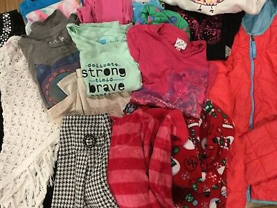 Girls Winter/Spring Clothing Lot size 7/8/10  GAP, Old Navy, LL BEAN, Justice
