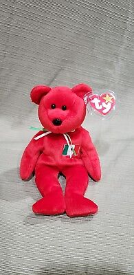Ty Beanie Baby Osito the Mexican Flag Bear 1999 *Retired & New