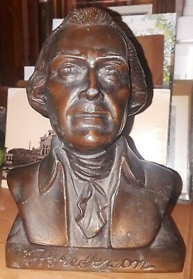 Anderson Federal Savings,Thomas Jefferson bust, bank. Indiana