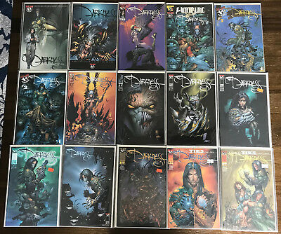 THE DARKNESS #1-40 COMPLETE Series! NM + Extras! 60 Issues! Image Top Cow Lot 1