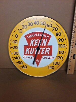 "Round 12""  Shapleigh's Keen Kutter Tools-Cutlery Thermometer"