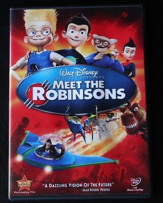 Meet the Robinsons (DVD, 2007) Disney Family Children Kids Animation Movie Film